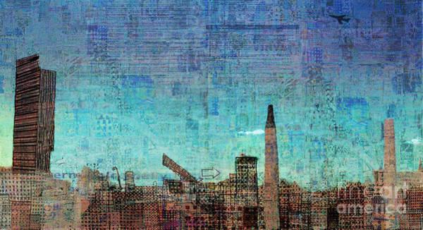 Manchester Digital Art - Manchester  by Andy  Mercer