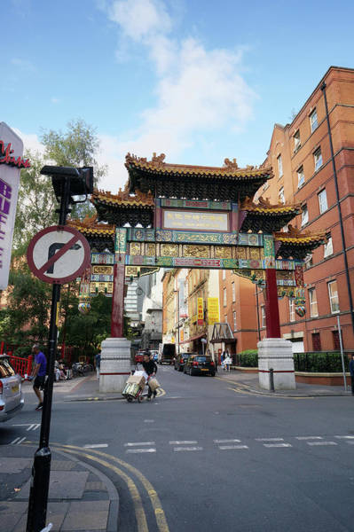 Greater Manchester Wall Art - Photograph - Manchester China Town by Aleksandr Volkov