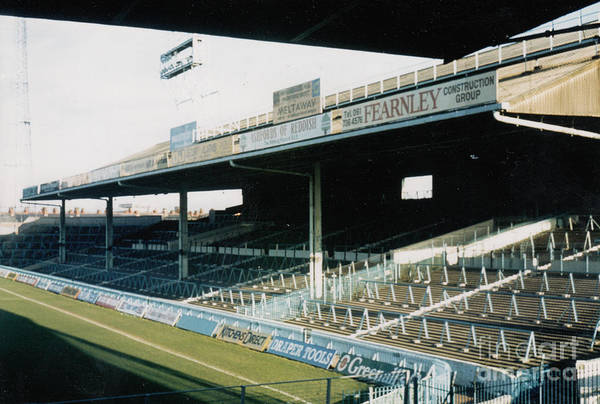 Wall Art - Photograph - Manchester City - Maine Road - East Stand 1 - 1984 by Legendary Football Grounds