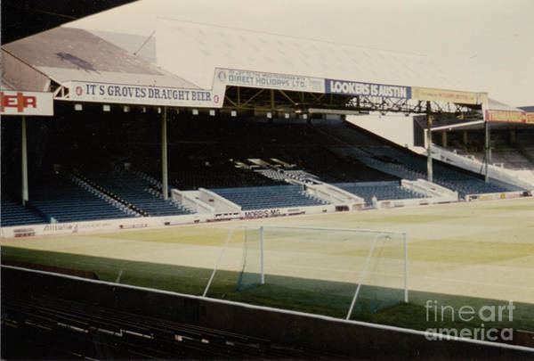 Wall Art - Photograph - Manchester City - Maine Road - West Stand 1 - 1970s by Legendary Football Grounds