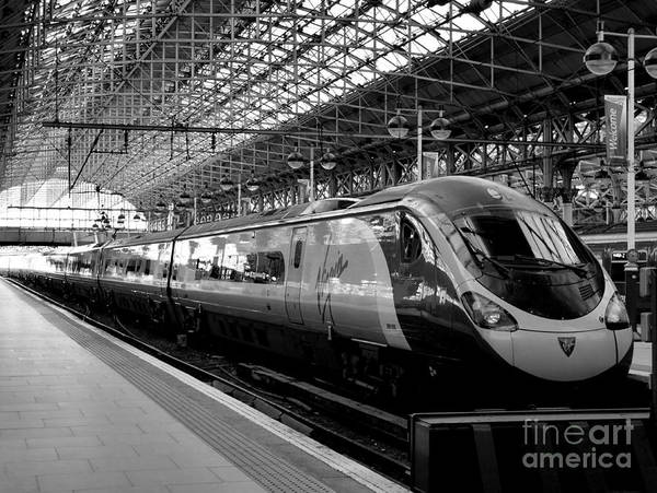 Photograph - Manchester Railway Station by Lexa Harpell