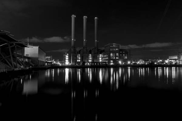 Manchester City Wall Art - Photograph - Manchester Street Power Station by Andrew Pacheco