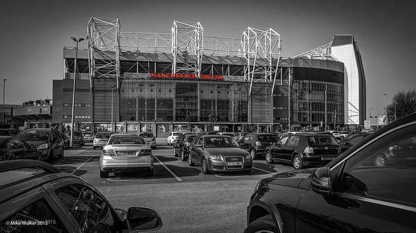 George Best Wall Art - Photograph - Manchester United Old Trafford 4 by Mike Walker