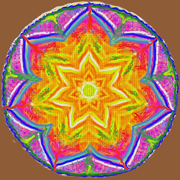 Painting - Mandala 12 20 2015 by Hidden Mountain
