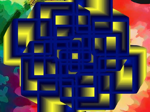 Digital Art - Mandala 14 by Catherine Lott