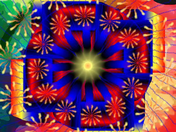 Digital Art - Mandala 15 by Catherine Lott