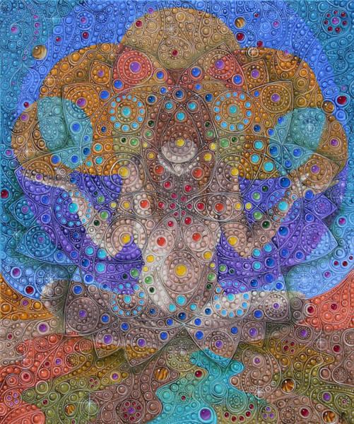 Painting - Mandala 2 by Victor Molev