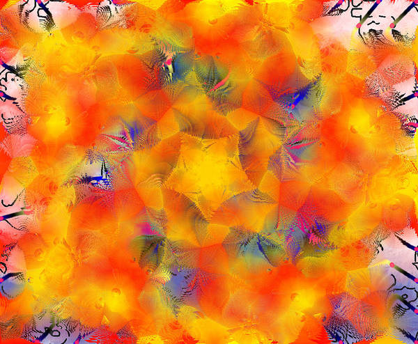 Digital Art - Mandala 3 by Catherine Lott