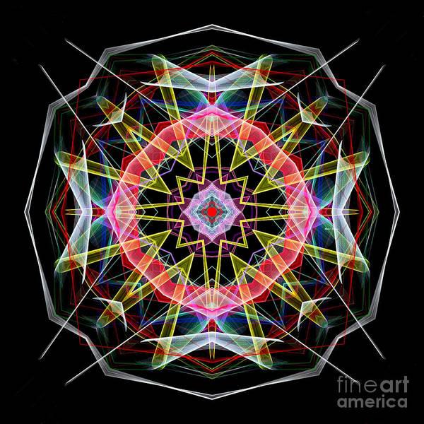 Digital Art - Mandala 3313 by Rafael Salazar