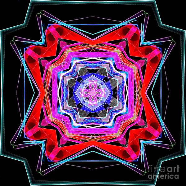 Digital Art - Mandala 3325 by Rafael Salazar