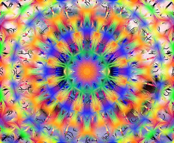 Digital Art - Mandala 4 by Catherine Lott