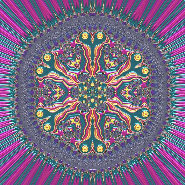 Digital Art - Mandala 467567678 by Robert Thalmeier