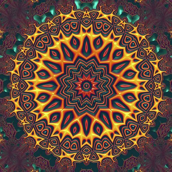 Digital Art - Mandala 574535675 by Robert Thalmeier
