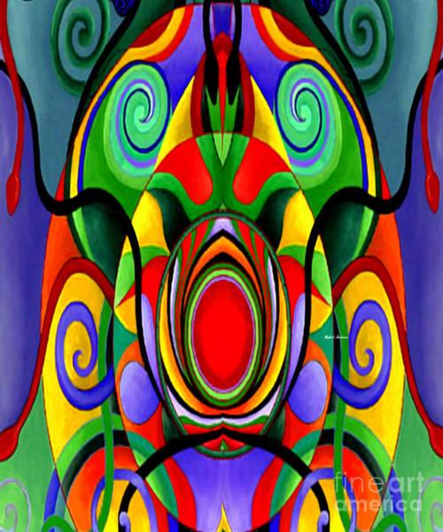 Digital Art - Mandala 9701 by Rafael Salazar