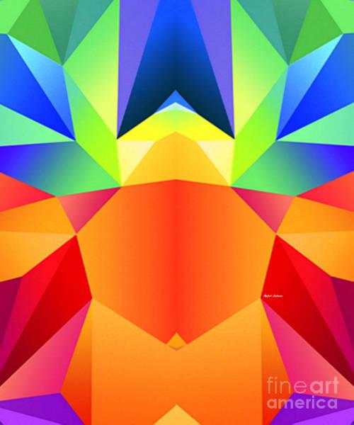 Digital Art - Mandala 9705 by Rafael Salazar
