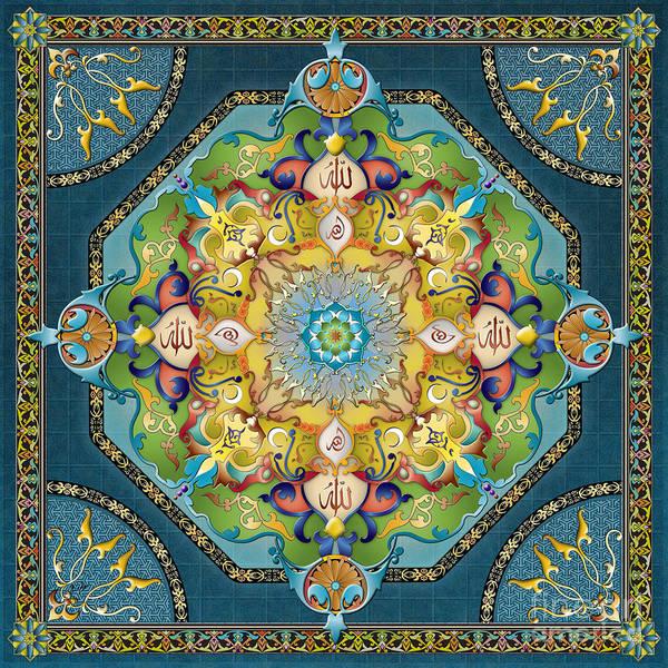 Wall Art - Digital Art - Mandala Arabesque by Peter Awax