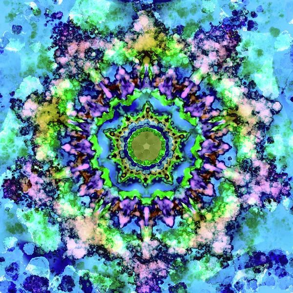 Wall Art - Digital Art - Mandala Art 1 by Patricia Lintner