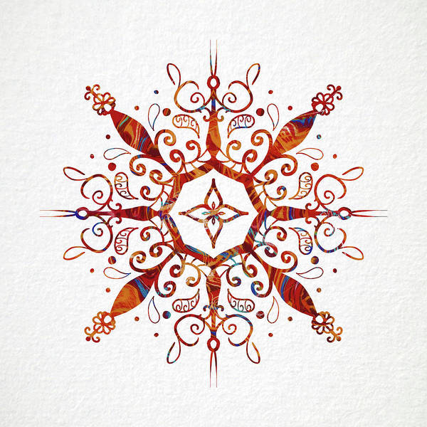 Sacred Mixed Media - Mandala Art 2 by Patricia Lintner
