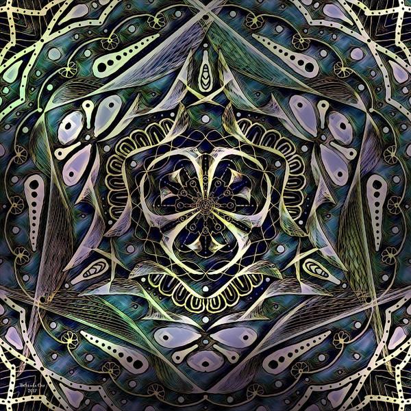 Digital Art - Mandala Art by Artful Oasis
