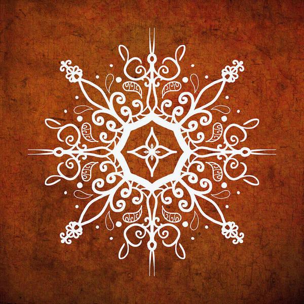 Digital Art - Mandala Art Earth Tone by Patricia Lintner