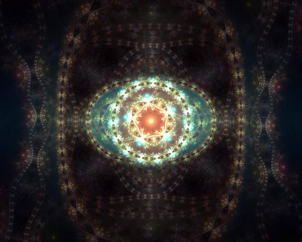 Julian Digital Art - Mandala by John Moran