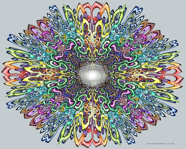 Digital Art - Mandala by Kevin Middleton