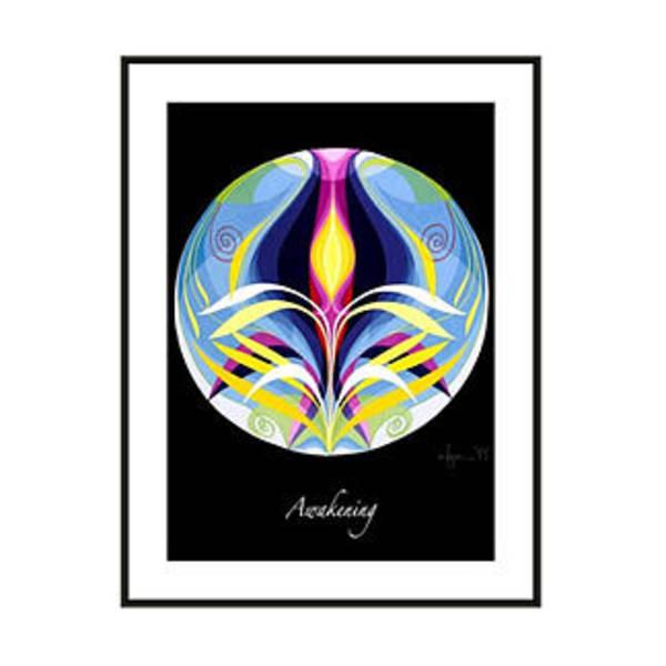 Painting - Mandala Logo by Angela Treat Lyon