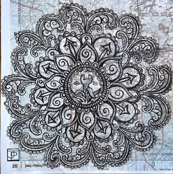 Zen Drawing - Mandala Of Routine Maintenance  by John Parish