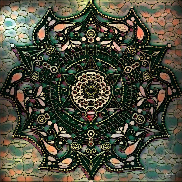 Digital Art - Mandala Of Winners by Artful Oasis