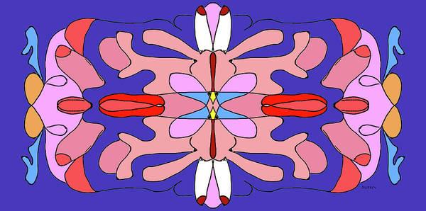Digital Art - Mandala Sexualis by Doug Duffey