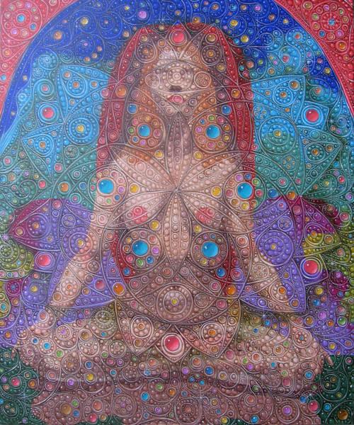 Painting - Mandala by Victor Molev