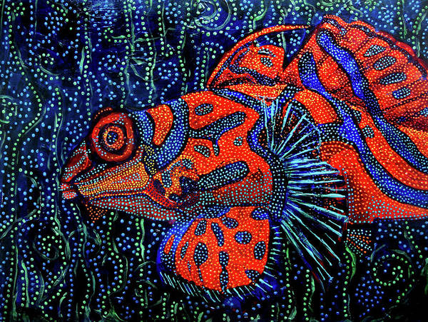Dreamtime Mandarin Art Print