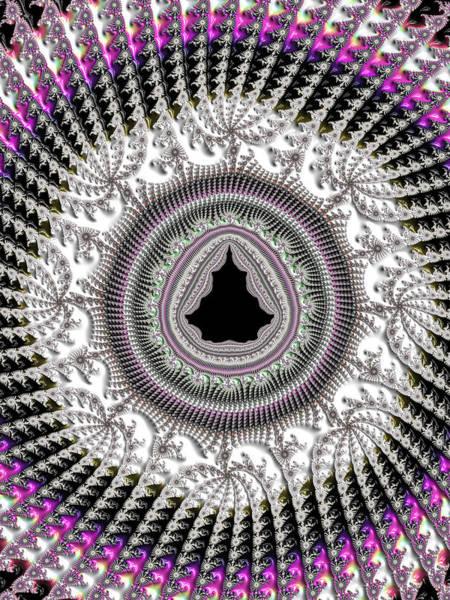 Crochet Digital Art - Mandelbrot Set Fractal Crochet by Matthias Hauser