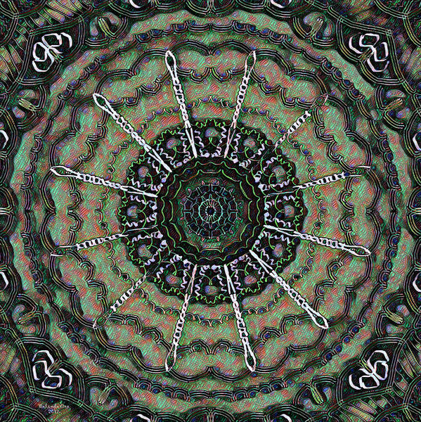 Digital Art - Mandrel Digital Painting by Artful Oasis