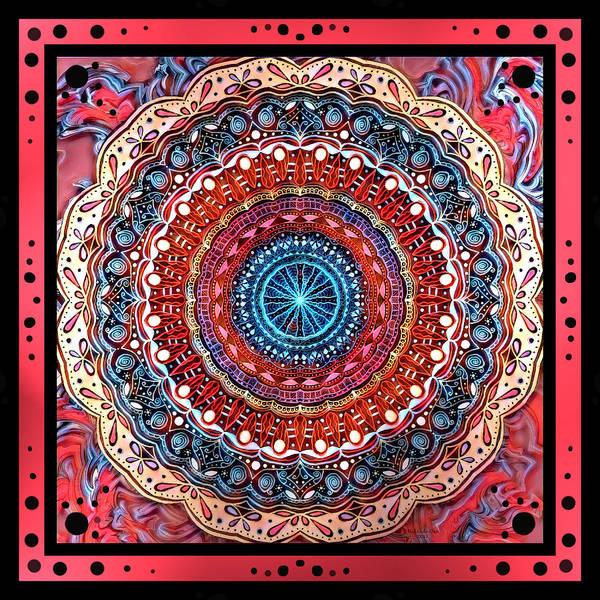Digital Art - Mandrel Tile 2 by Artful Oasis