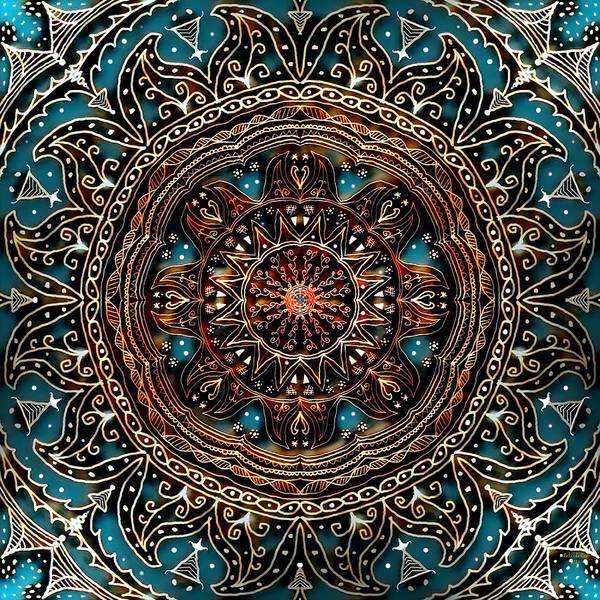 Digital Art - Mandrel Tile by Artful Oasis