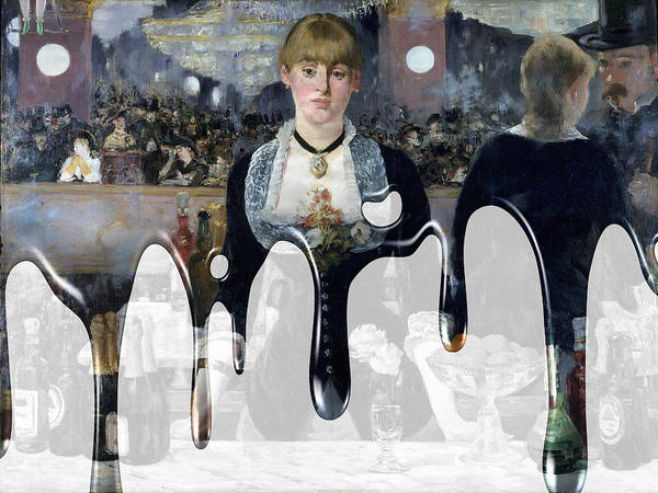 Photograph - Manet by Andrew Fare