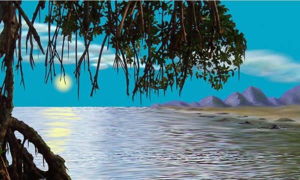 Digital Art - Mangrove Morning by Tony Rodriguez