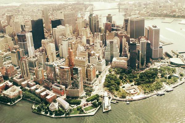 Photograph - Manhattan by Albert Mollon