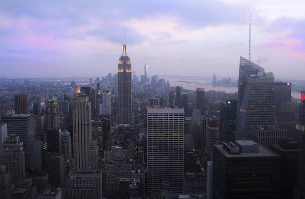 Photograph - Manhattan At Dawn by Jed Holtzman
