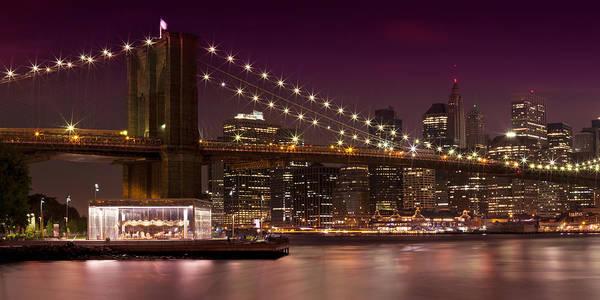 Wall Art - Photograph - Manhattan At Night by Melanie Viola