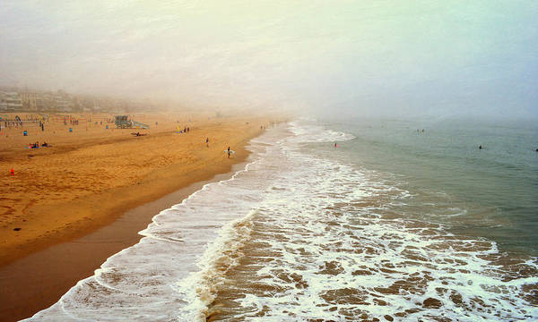 Photograph - Manhattan Beach On An Early Morning by Glenn McCarthy Art and Photography