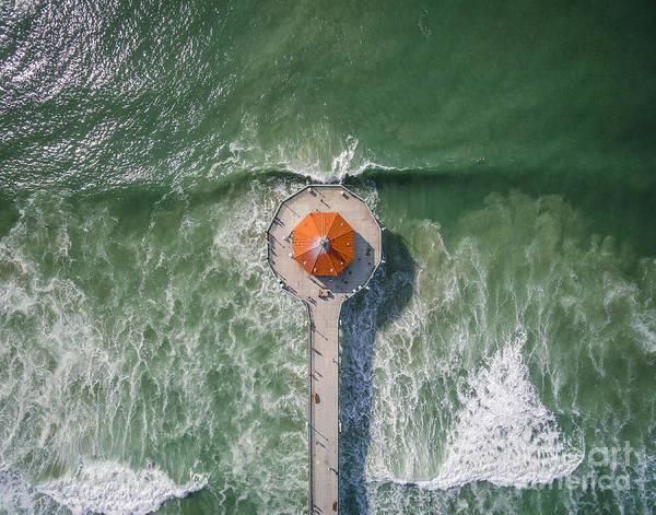 Manhattan Beach California Photograph - Manhattan Beach Pier by Art K