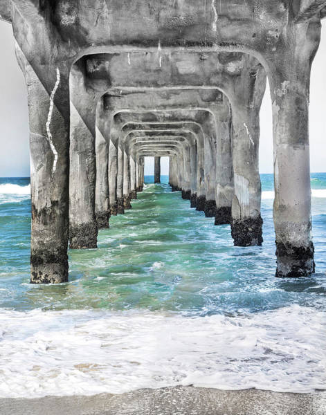 Wall Art - Photograph - Manhattan Beach Pier by Rosanne Nitti