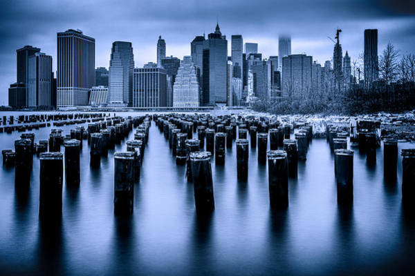 Wall Art - Photograph - Manhattan Blues by Chris Lord