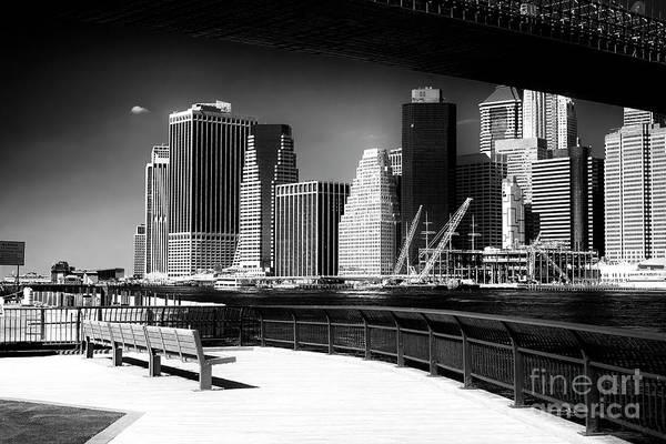 Photograph - Manhattan Boardwalk View by John Rizzuto