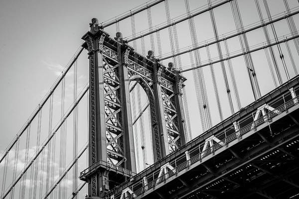 Photograph - Manhattan Bridge by Frank Mari