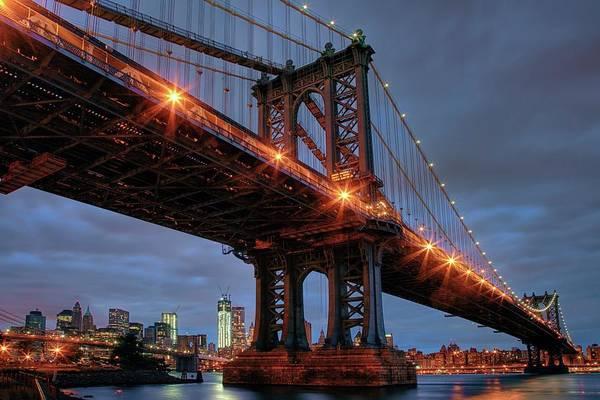 Photograph - Manhattan Bridge Nyc by Harriet Feagin