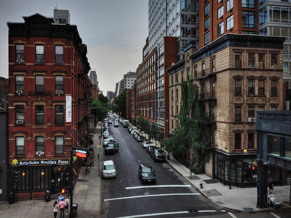 Photograph - Manhattan - Chelsea 002 by Lance Vaughn