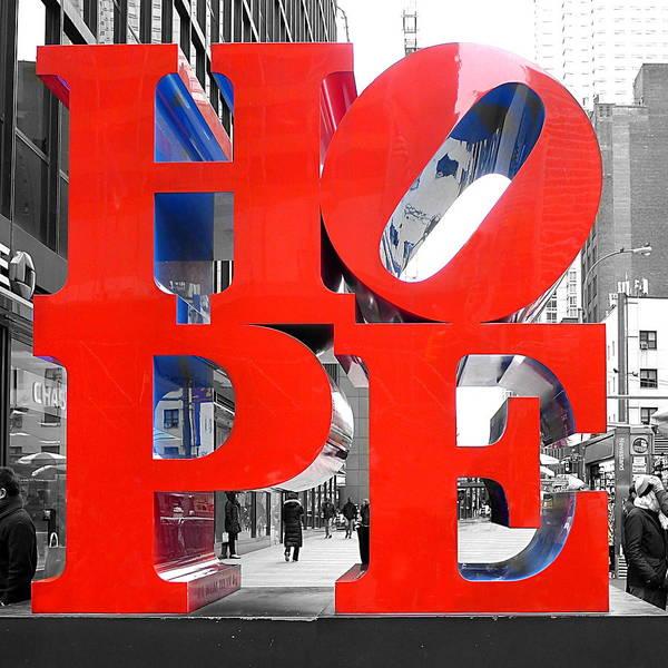 Photograph - Manhattan - Hope by Richard Reeve